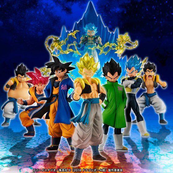 HG movie Dragon Ball super Goku Vegeta Fusion set