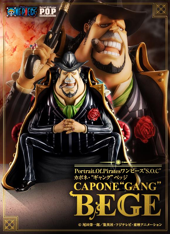 One Piece Portrait of Pirates S O C CAPONE
