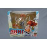 (T5E6) One Piece Figuarts Zero Nami Milky Ball Bandai