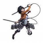 Hdge technical statue No.5 Attack on Titan Mikasa Union Creative