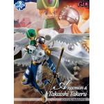 GEM series Digimon Adventures Angemon and Takaishi Takeru Megahouse collector