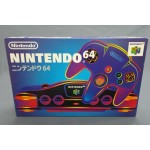 (T27E16) NINTENDO 64 GAME CONSOLE REF NUS-S-HA (JPN) COMPLETE INBOX VERY GOOD CONDITION