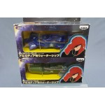 (T5E5) Captain Harlock Arcadia water ship set of two banpresto