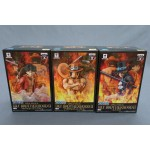 One Piece DXF brotherhood II set of 3 Sabo-Portgas.D.Ace-Monkey.D.Luffy banpresto