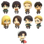 Color Collection Attack on Titan Vol. 2 box of 8 with bonus Movic