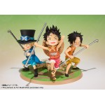Figuarts Zero One Piece Luffy Ace Sabo Gikyoudai no Yakusoku Bandai