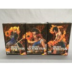 One Piece Attack Styling pack box of 3 figures Luffy Ace Sabo Bandai