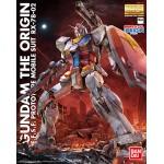 Gundam the origin E.F.S.F prototype Mobile suit rx-78-02 Master Grade MG 1/100