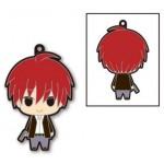 Anime Assassination Classroom Solid Rubber Mascot Karma Akabane