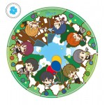 Free! Eternal Summer Toy'sworks Collection Niitengo SisterS PukaPuka Liquid Mouse Pad