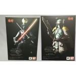 Star Wars Meisho MOVIE REALIZATION Samurai Taisho Darth Vader and Boba Fett