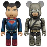 BEaRBRICK Superman & Armored Batman set