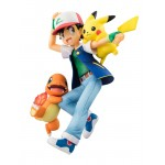 G.E.M. Series Pokemon Ash & Pikachu & Charmander MegaHouse