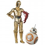 "MAFEX No.029 ""Star Wars The Force Awakens"" C-3PO & BB-8 Medicom Toy"