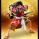 One Piece - P.O.P Portrait of Pirates Monkey D. Luffy KABUKI EDITION