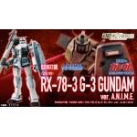 The Robot Spirits (Side MS) RX-78-3 G-3 Gundam ver. A.N.I.M.E Bandai Collector