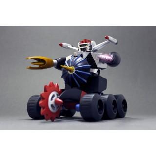 (T9) Dynamite Action! HYBRID No.1 Chojin Sentai Barattack Black Barattack EVOLUTION TOY