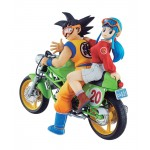 DESKTOP REAL McCOY 05 Dragon Ball Z Son Goku & Chichi Complete Figure