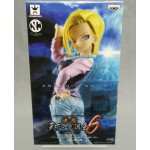 Dragon ball Z DBZ Scultures Big 6 Android 18 Banpresto