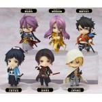 Nendoroid Petite Touken Ranbu ONLINE 1st squad box of 6 figures with bonus - Orange Rouge