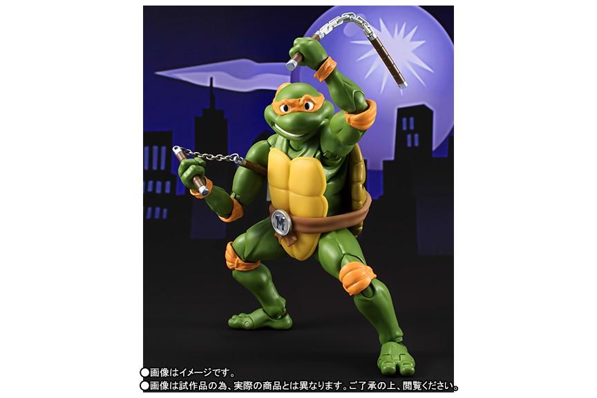 SH S.H. Figuarts Teenage Mutant Ninja Turtles Michelangelo Bandai Collector