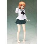 Girls und Panzer Miho Nishizumi School Uniform & Ankou Suits Ver. 1/4 FREEing