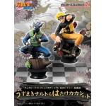 Naruto Chess Piece Collection R Premium Uzumaki Naruto and Hatake Kakashi