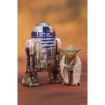 ARTFX+ Star Wars Episode V The Empire Strikes Back - Yoda & R2-D2 Dagobah Pack 1/10 Kotobukiya