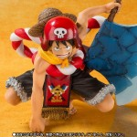 One Piece Film Gold Figuarts ZERO Monkey D. Luffy Opening Ver. Bandai Collector