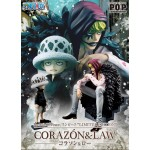 One Piece Portrait of Pirates POP Corazon and Law Megahouse Limited Edition