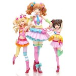 THE IDOLMASTER Cinderella Girls Decoration Rika Jougasaki & Kirari Moroboshi & Miria Akagi Premium Set Wave