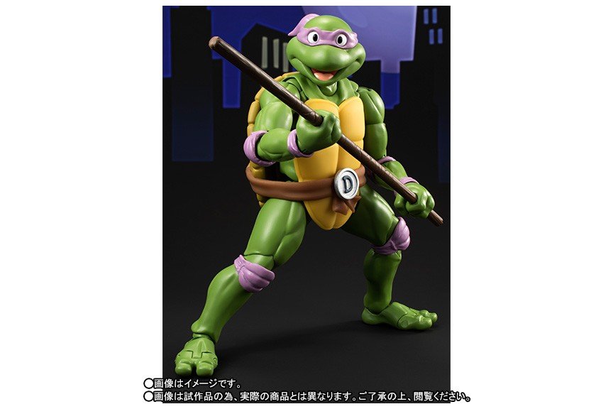 Teenage Mutant Ninja Turtles SH S.H. Figuarts Donatello Bandai Japan NEW