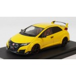 Honda Civic Type R (FK2) Sunlight Yellow (Custom Color Version) 1/43 HobbyJAPAN