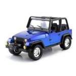 BTM 1992 JEEP WRANGLER BLUE 1/24 Jada Toys