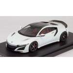 Honda NSX (NC1) 2017 (Carbon Exterior Package) 130R White 1/43 HobbyJAPAN