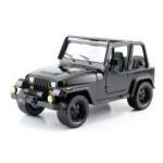 BTM 1992 JEEP WRANGLER BLACK 1/24 Jada Toys