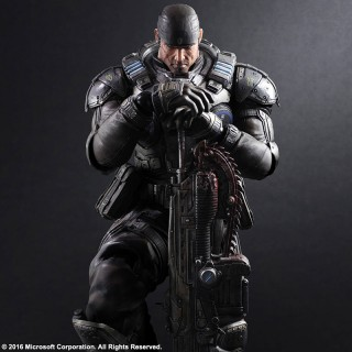 Play Arts Kai Gears of War Marcus Fenix Square Enix