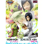 Digimon Adventure GEM G.E.M Series Ichijouji Ken and Wormon Megahouse collector
