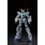 MG 1/100 Unicorn Gundam (Red/Green Frame Twin Frame Edition) Titanium Finish Plastic Model Bandai
