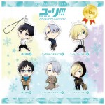 Chara-Forme Yuri on Ice Acrylic Strap Collection Empty