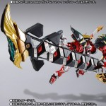 METAL BUILD Powered Red & 150 Gerbera Straight (Power) Option Set Bandai Premium