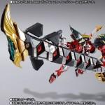 METAL BUILD Powered Red & 150 Gerbera Straight (Power) Option Set Bandai Premium