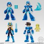 66 ACTION Mega Man Candy Toy Bandai