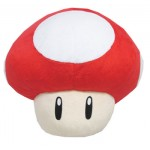 Super Mario Item Cushion Super Mushroom San-ei Boeki