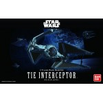 Star Wars Plastic Model Kit 1/72 TIE INTERCEPTOR Bandai