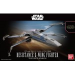 Star Wars Plastic Model Kit 1/72 RESISTANCE X-WING FIGHTER Bandai