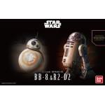Star Wars Plastic Model Kit 1/12 BB-8 AND R2-D2 Bandai