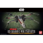 Star Wars Special set 1/72 and 1/144 RED SQUADRON X-WING STARFIGHTER Bandai