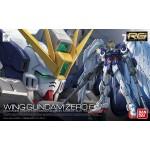 RG 1/144 XXXG-00W0 Wing Gundam Zero EW Plastic Model Bandai