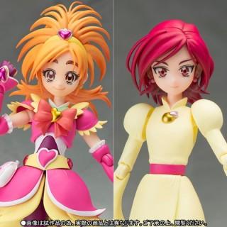 SH S.H. Figuarts Cure Futari wa Precure Splash Star Bloom & Michiru Set Bandai